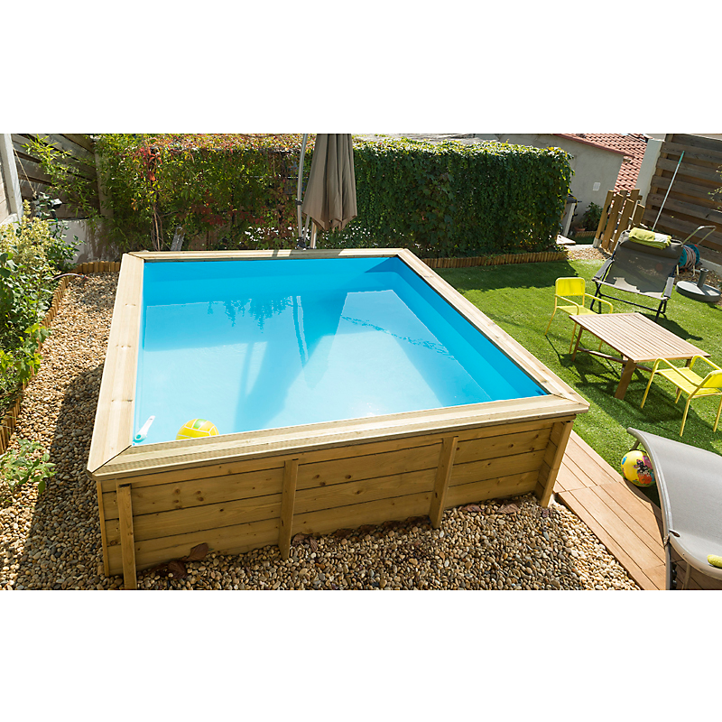Piscine Tropic Junior Carré 2 x 2 m