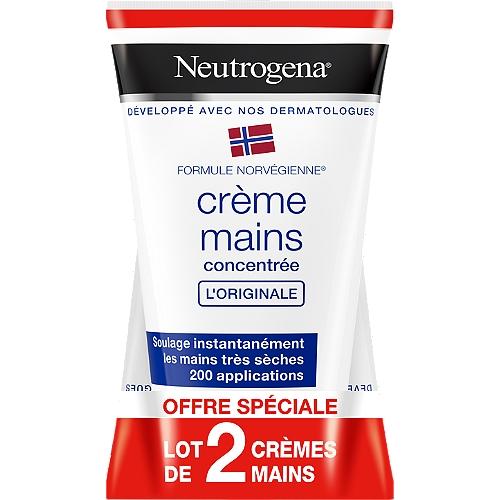 Duo crème mains hydratante concentrée