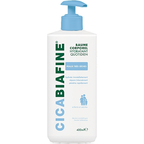 Cicabiafine Baume Hydratant Corporel Quotidien 400ml