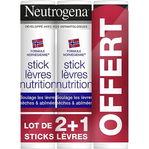 Sticks lèvres nutrition x3