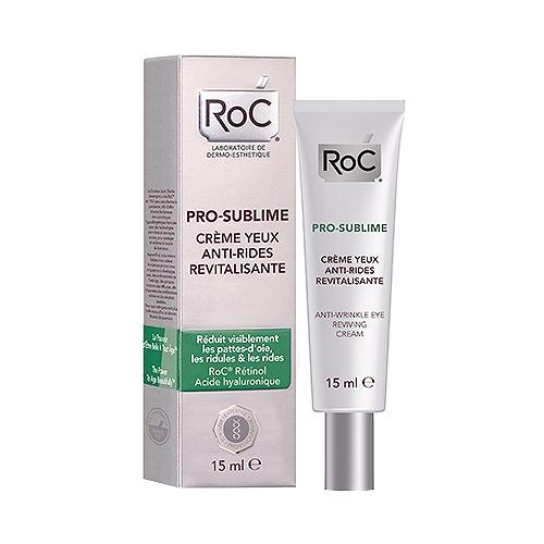 Roc pro-sublime crème yeux anti-rides revitalisante 15ml