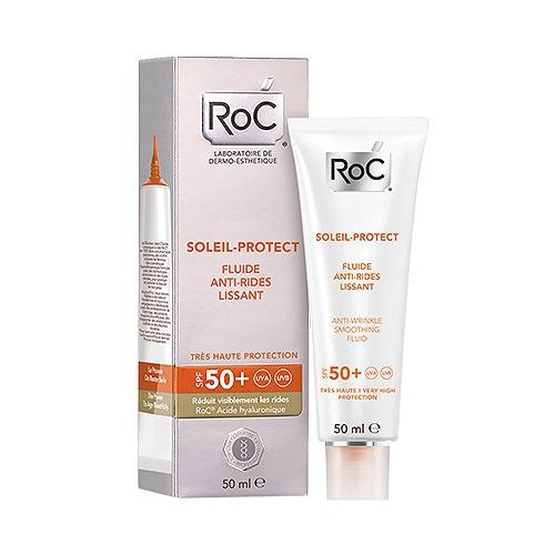 Roc Soleil Protect Fluide Anti-Rides Lissant SPF50+ 50ml