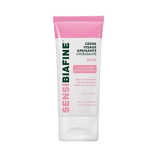 Crème visage hydratante apaisante riche 50ml