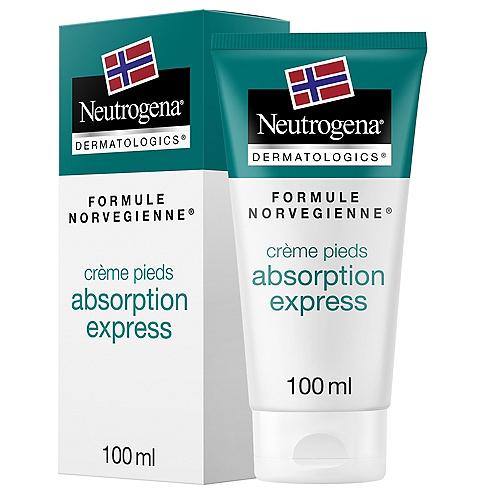 Crème pieds secs absorption  express 100ml