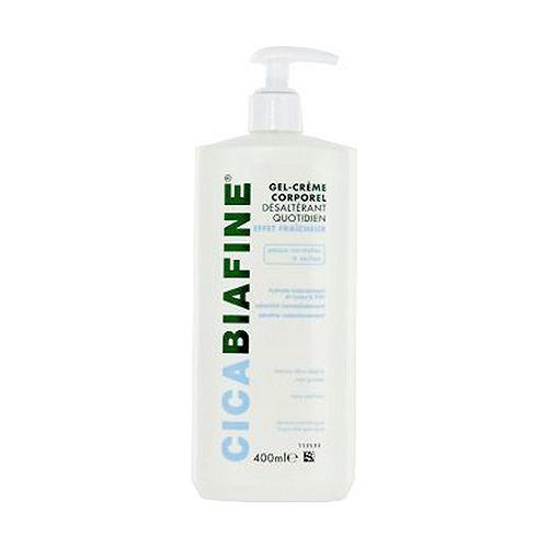 Gel crème hydratant quotidien bouteille pompe 250 ml
