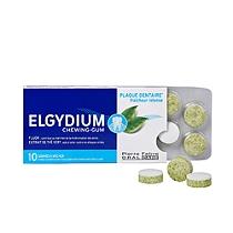 Elgydium chewing-gum boite de 10 gommes à mâcher