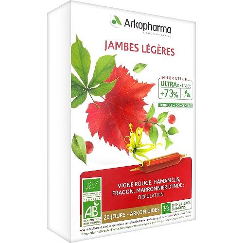 Arkofluides jambes légères 20 ampoules