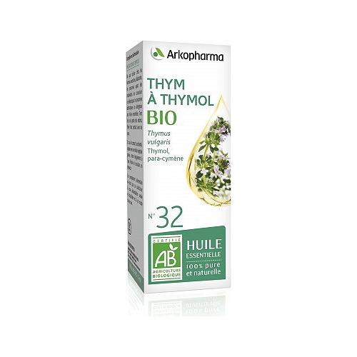 Huile essentielle thym à thymol  bio 5ml
