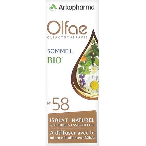 Olfae sommeil isolat naturel & 6 huiles essentiellles bio 5ml
