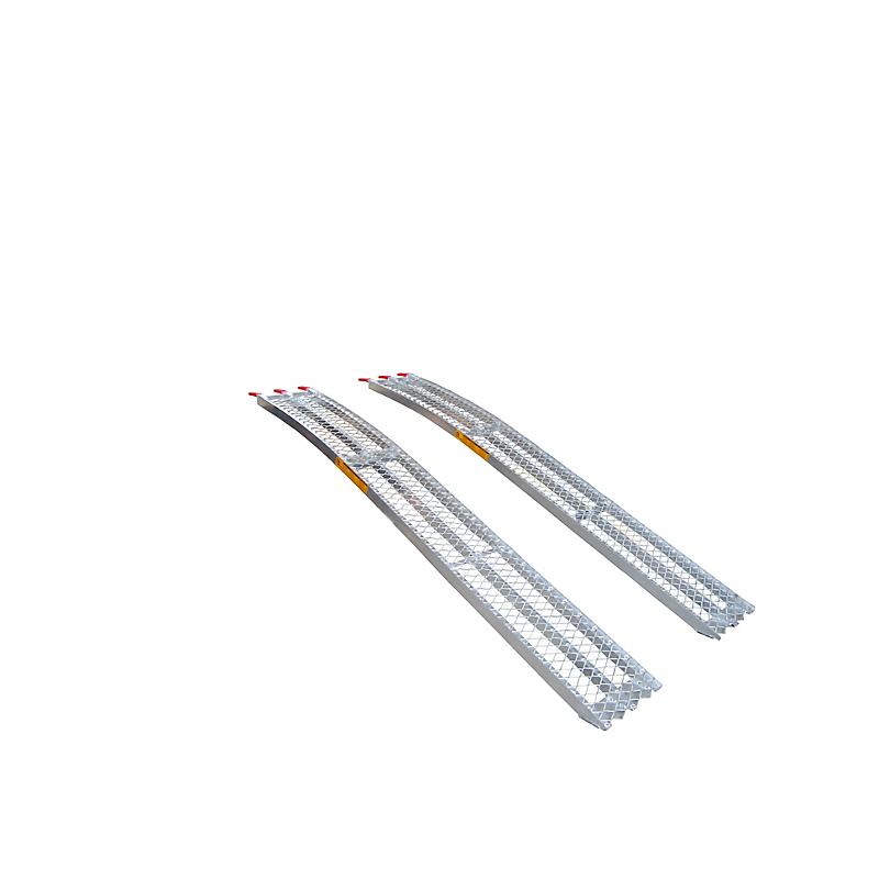 Rampes Courbées Aluminium 680 kg