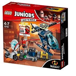 LEGO - LEGO® Juniors The Incredibles II - La poursuite sur les toits d'Elastigirl - 10759 - 10759