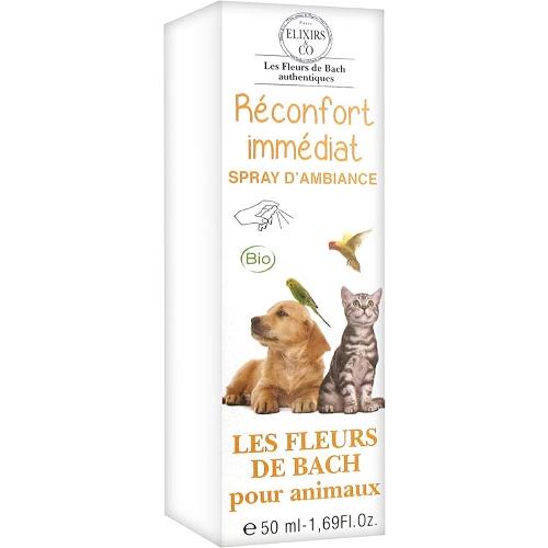Spray d'ambiance réconfort immédiat pour animaux 50ml