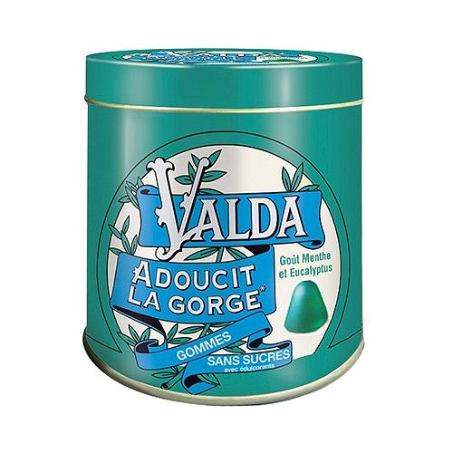 Valda sans sucre 160gr