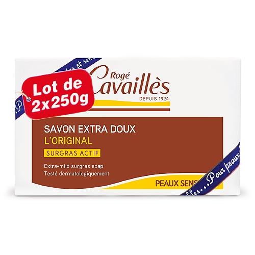 Roge Cavailles Savon Surgras Extra Doux 2x250gr