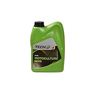 Huile Motoculture 2 Temps 2l Tech9