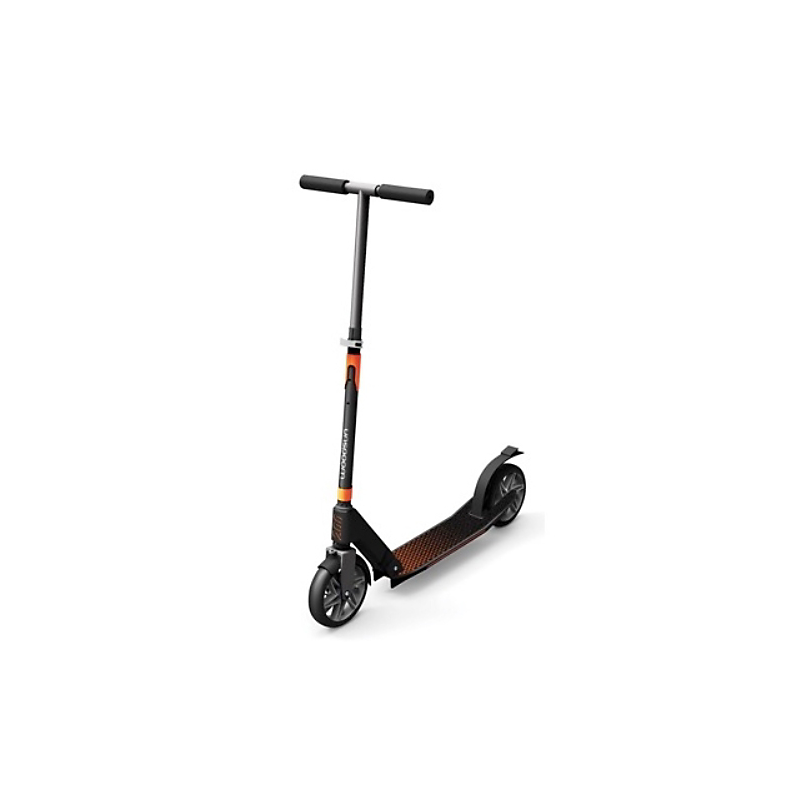 Trottinette pliable 175 mm - Noir orange