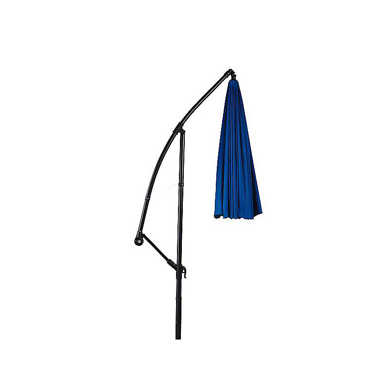 Parasol bleu excentré SHANGHAI ⌀270 x H.254 cm - BEAUX JOURS