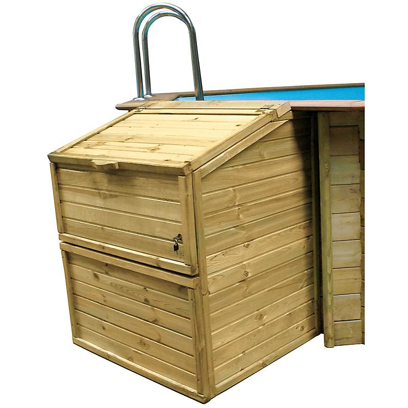 Coffre de filtration piscine 133 cm