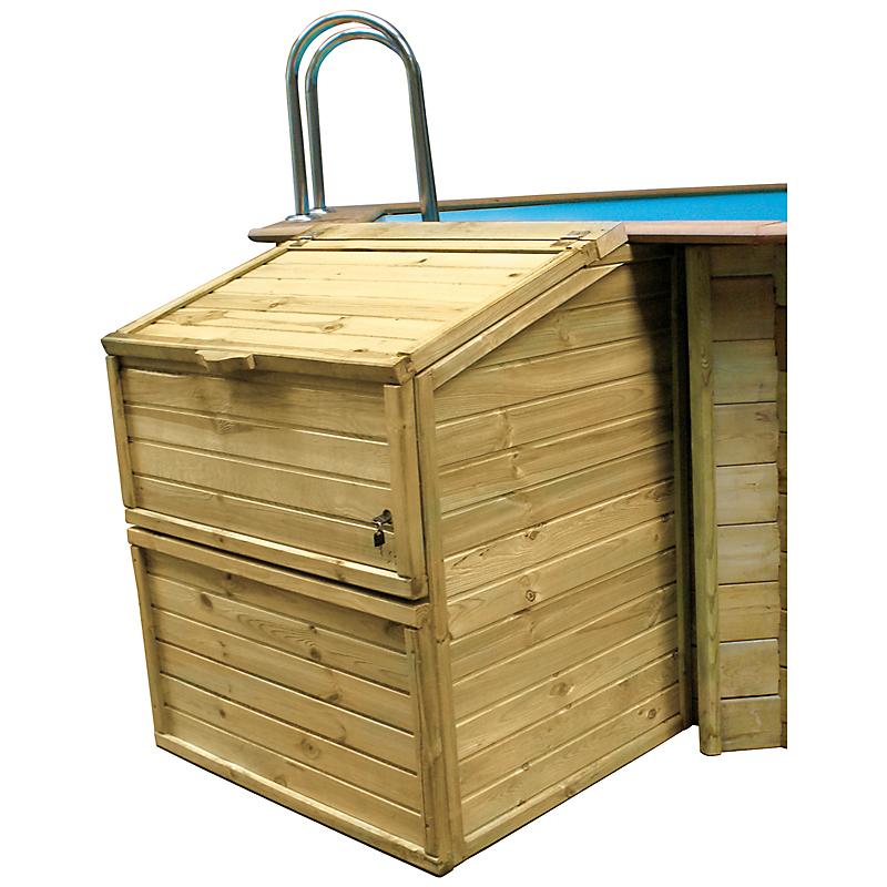 Coffre de filtration piscine 146 cm
