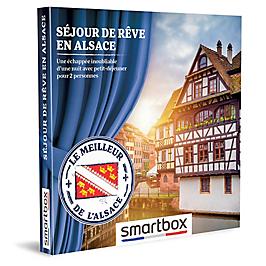 Smartbox - SÉJOUR DE RÊVE EN ALSACE