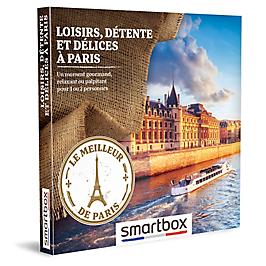 Smartbox - LOISIRS, DÉTENTE ET DÉLICES À PARIS