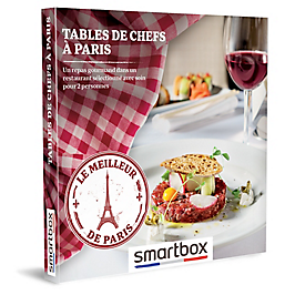 Smartbox - TABLES DE CHEFS À PARIS
