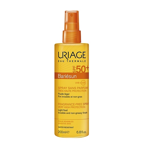 Bariésun spray sans parfum parfum SPF50+ 200ml