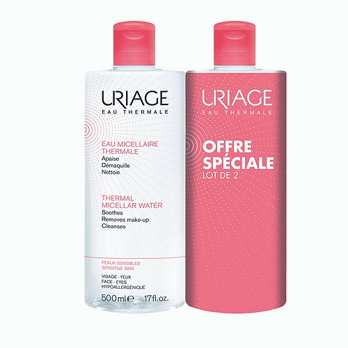 Eau micellaire thermale 2x500ml