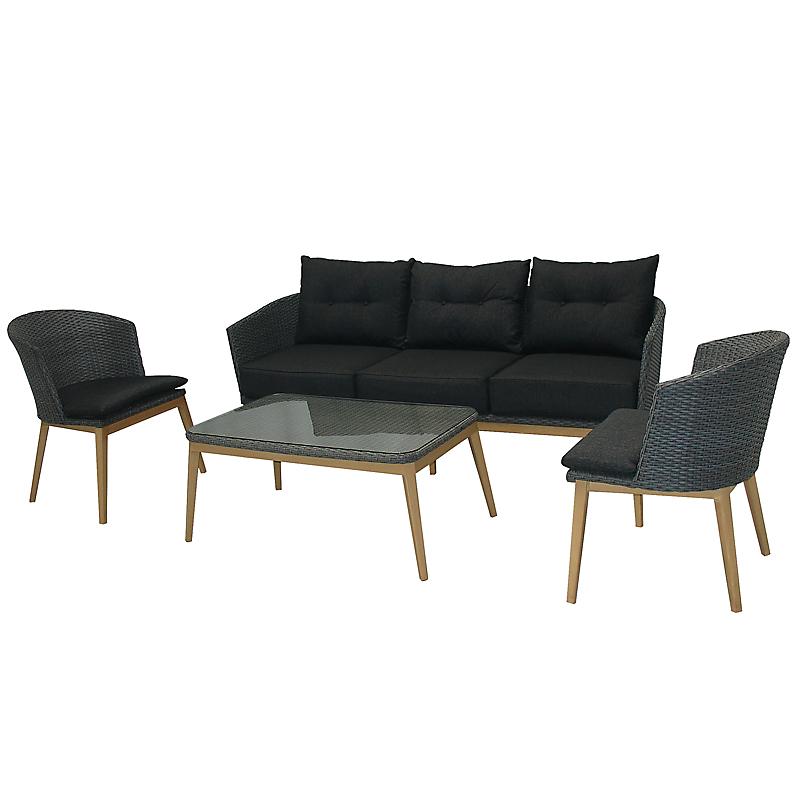 salons de jardins pas cher maison loisirs e leclerc. Black Bedroom Furniture Sets. Home Design Ideas