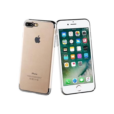 Coque de protection Muvit Crystal iPhone 7 plus/8 plus noir au ...