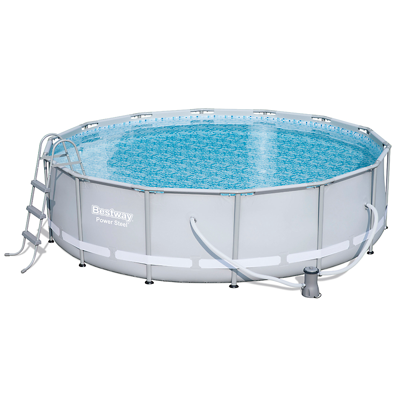 Piscine métal Power Steel ronde 427 x 107 cm