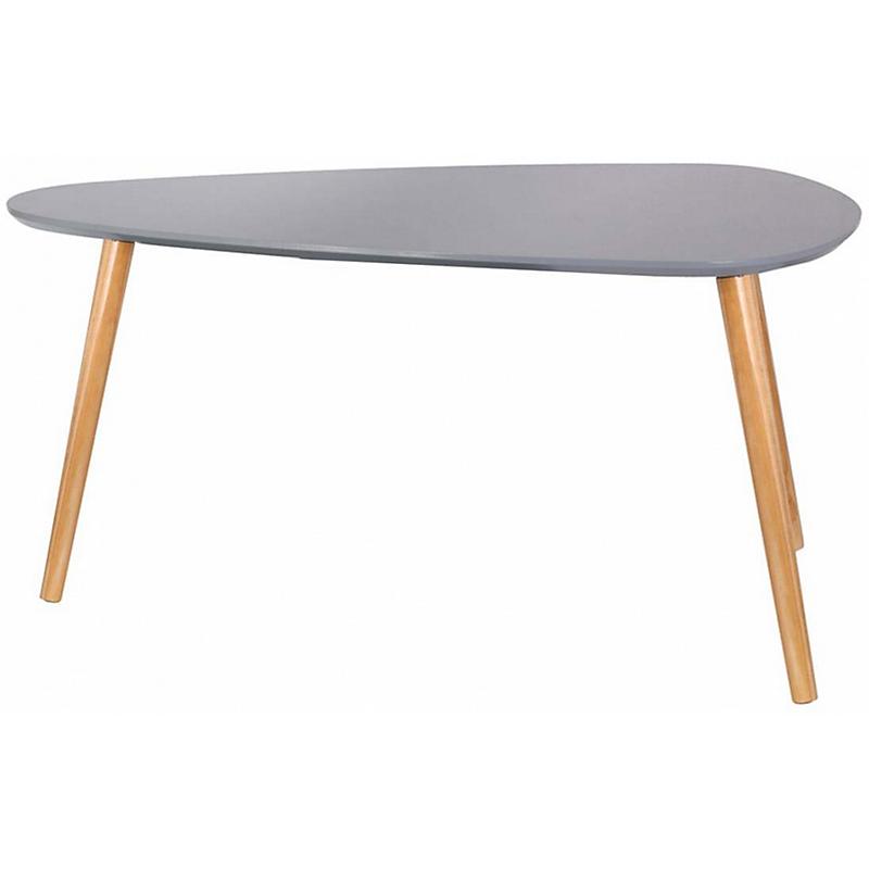 Table gigogne bois galet gris