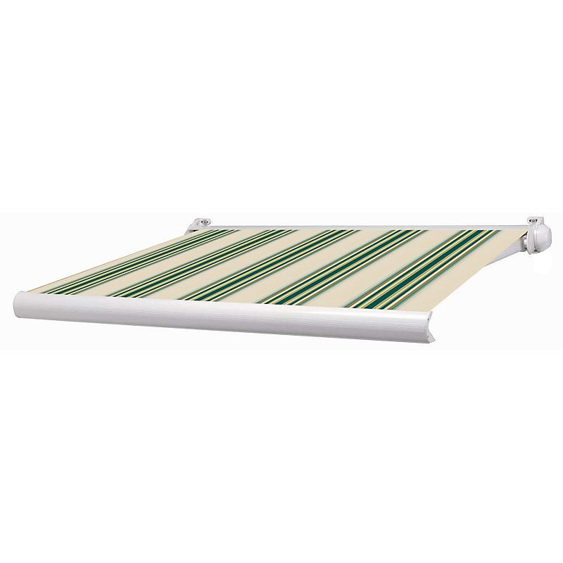Store mini coffre Ottawa aluminium rayé vert manuel 3 x 2