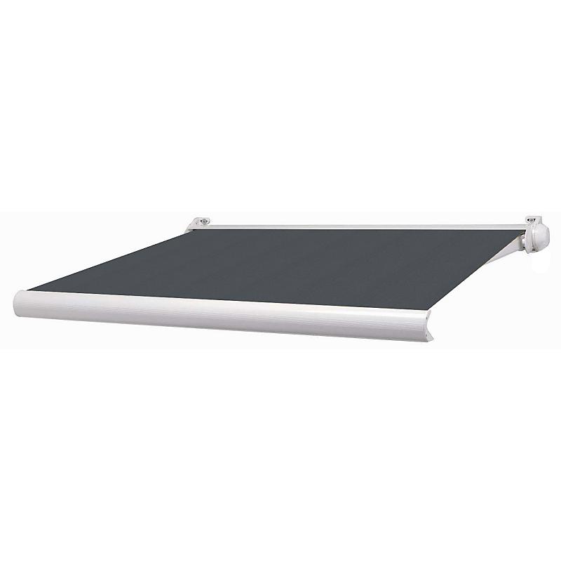 Store mini coffre Ottawa aluminium gris et blanc manuel 3 x 2