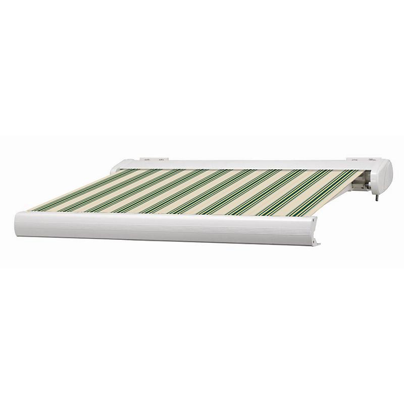 Store coffre Manhattan LED vert et blanc motorisé 5 x 3,5