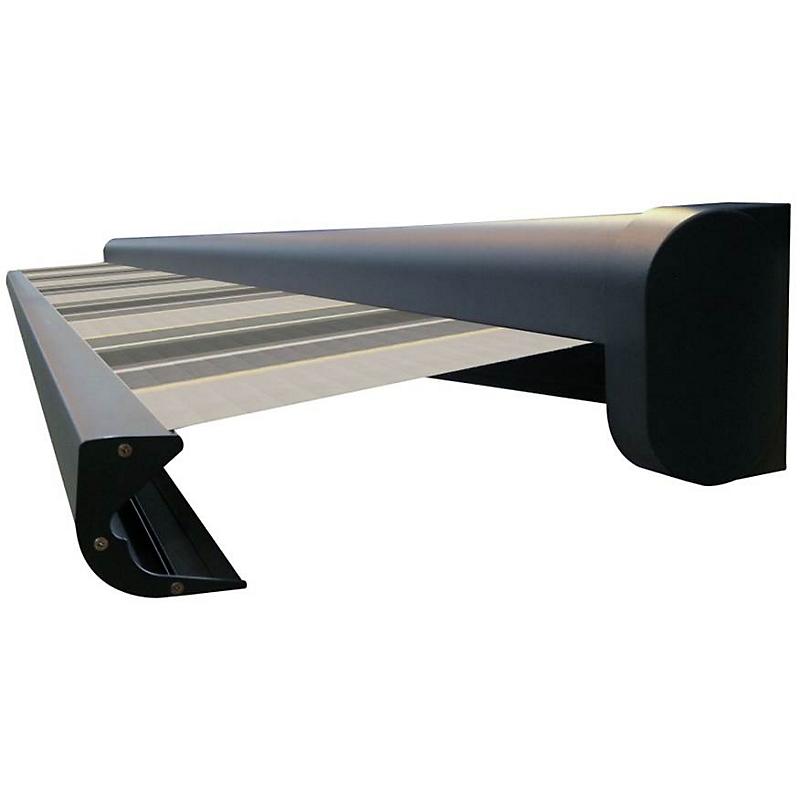 Store coffre LISBOA gris manuel 3 x 2 m S432