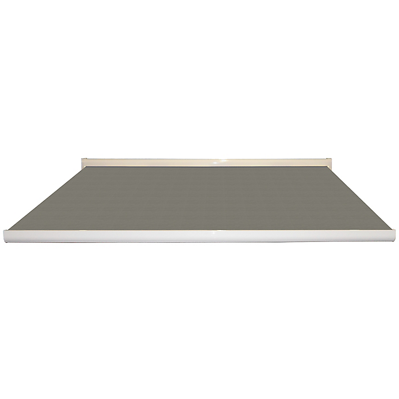 Store coffre Lisboa aluminium uni gris motorisé 4 x 3