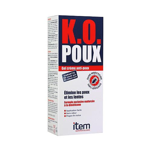 Ko poux  gel crème anti-poux