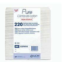 Coton rectangulaires 8 X 10cm