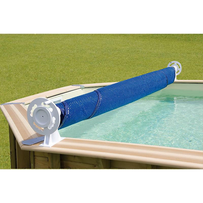 Enrouleur de bâche de piscine 6,5 m