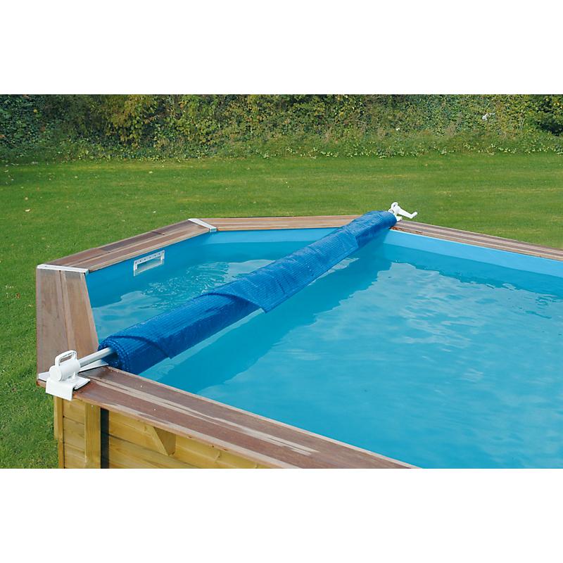 Enrouleur de bâche de piscine amovible