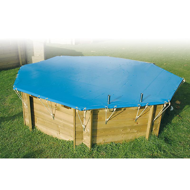 Bâche hiver piscine Ø 410 cm