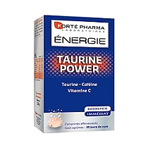 Forte pharma taurine power 30 comprimés effervescents