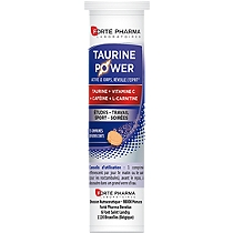 Taurine power 15 comprimés