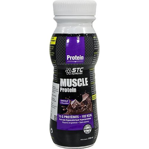 Muscle protein- goût: Chocolat 8x250ml