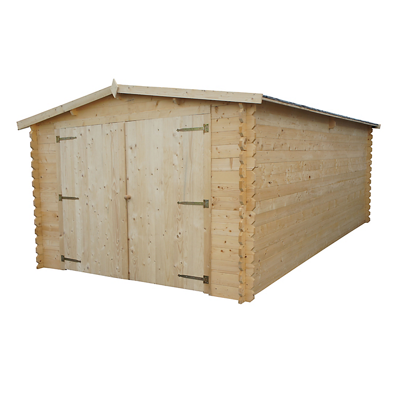 Garage bois ROYAL 22,2 m²