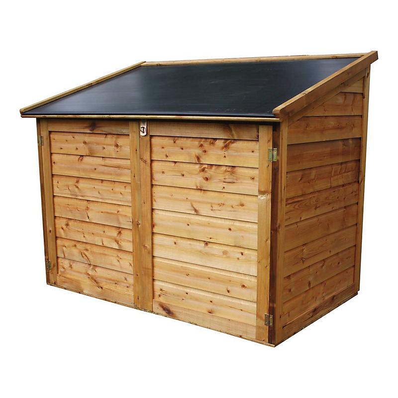 Coffre jardin bois TROCADERO® 1200 L - Maison et Loisirs E ...