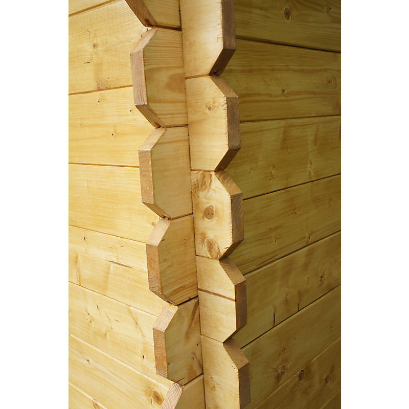 Abri de jardin bois 28 mm 12 m²