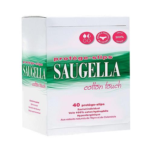 Saugella Cotton Touch Proteges Slips Boîte de 40