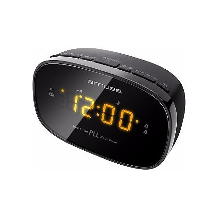 Radio réveil MUSE M150cr noir | E.Leclerc High Tech